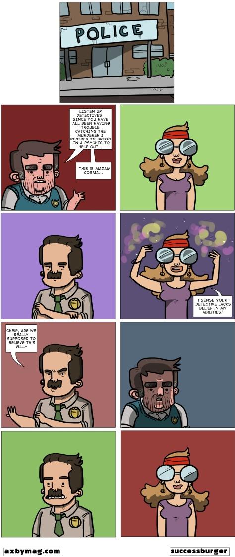 Police Comic Rework